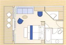 Junior Suite, balcony