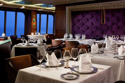 The Pinnacle Grill, an intimate reservation-only dinner venue