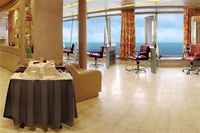 The Beauty Salon on the MS Veendam