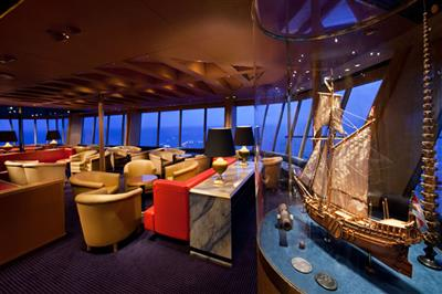 Canaletto, the Italian restaurant on Holland America Line's ship