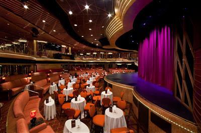 The Showroom at Sea, Veendam's main entertainment area