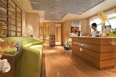 The Spa and Wellness Centre on Cruise and Maritime's Marco Polo