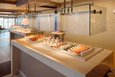 Dessert station in the Lido Café