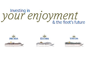 P&O Cruises Announce Fleet Upgrades