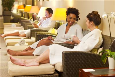 The Canyon Ranch Spa Club on the Queen Mary 2 by Cunard