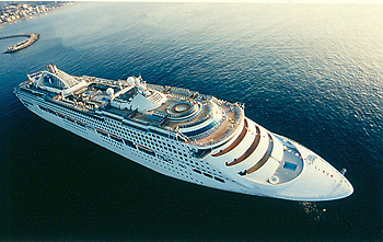 Sun Princess Begins Her $30 Million Transformation