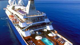 SeaDream II from above