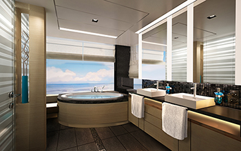 Norwegian Cruise Line Uncover Cabin Designs For New Ship