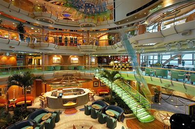 Serenade of the Seas' main atrium