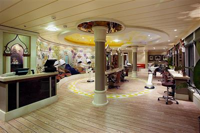The Hair Salon on deck 11 of the Serenade of the Seas