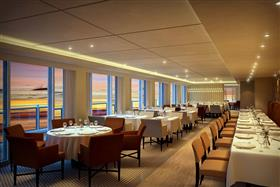 The main dining room on the Viking  Sea
