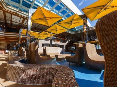 Lido Diana, the main swimming-pool on Costa Diadema