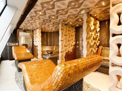 Detail inside Samsara, the Spa onboard Costa Diadema