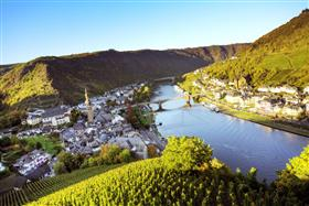 Rhine river Cochem