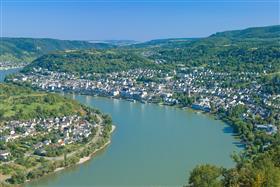 Rhine river Boppard