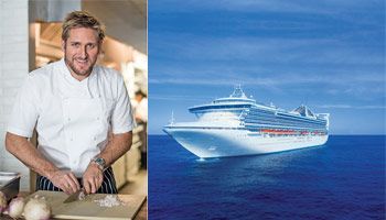Princess Cruises Announce Partnership with Celebrity Chef Curtis Stone