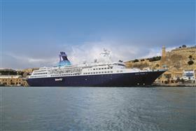 Saga Pearl II, starboard view