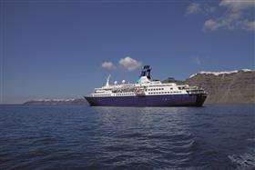 Saga Pearl II, larboard view