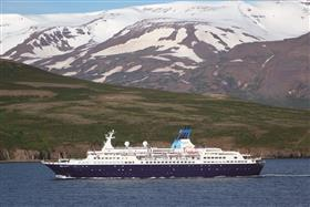 Another exterior shot of the Saga Pearl II