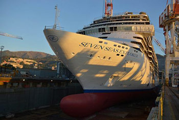 Regent Seven Seas Explorer Launched by Fincantieri