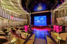 The ship's Theatre