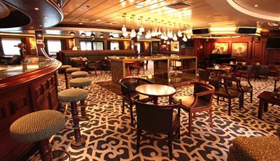 The Captain's Club on the Promenade Deck | Columbus on Cruise and Maritime