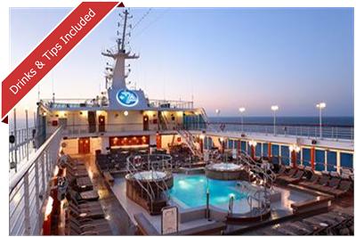 Azamara Club Cruises Top Deck Pool