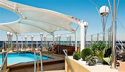 The One Pool, MSC  Yacht  Club guests only