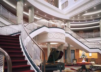 New Grand Lobby and Wines for Queen Mary 2