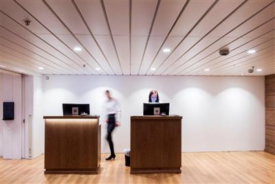 The ship's vestibule