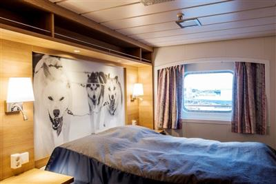 The Expedition Suite on the MS Kong Harald