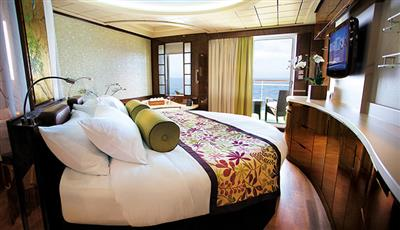The Haven Courtyard Suite on the Norwegian Epic