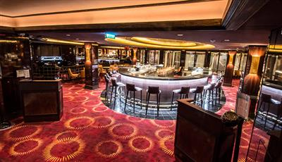 The Epic Casino, deck 6, allows over 18's only