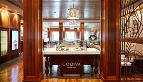 Godiva's Chocolate Café on the Queen Mary 2