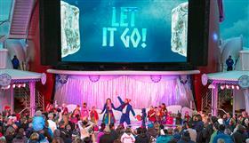 Disney's Frozen Deck Party