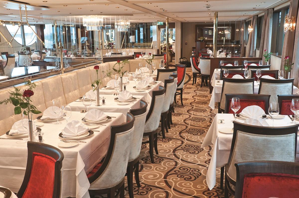 MS Inspire restaurant