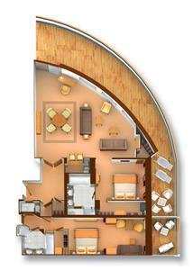 floorplan GW Suite