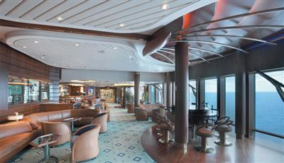 Schooner, the piano bar on Vision of the Seas' deck 6