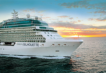 Sail from Southampton with Celebrity Silhouette in 2018
