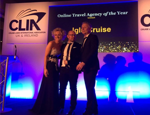 Iglu Cruise Wins Online Travel Agent of the Year, for 5 Consecutive Years!