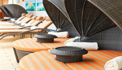 Silver Whisper's pool deck