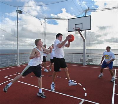 Dual-purpose courts offer more fun and fitness