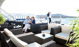 Passengers relaxing on Astor. by Cruise&Maritime Voyages