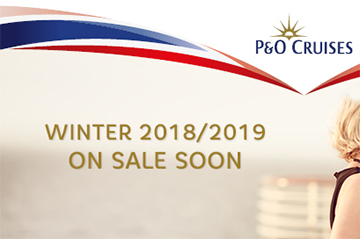 Register your interest NOW for P&O Cruises new collection
