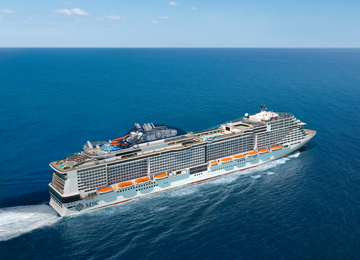 MSC Cruises Confirms order for up to four World Class cruise ships