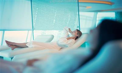 Detail of the Spa | Celebrity Infinity on IgluCruise