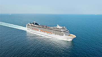 Sail from Southampton with MSC Cruises
