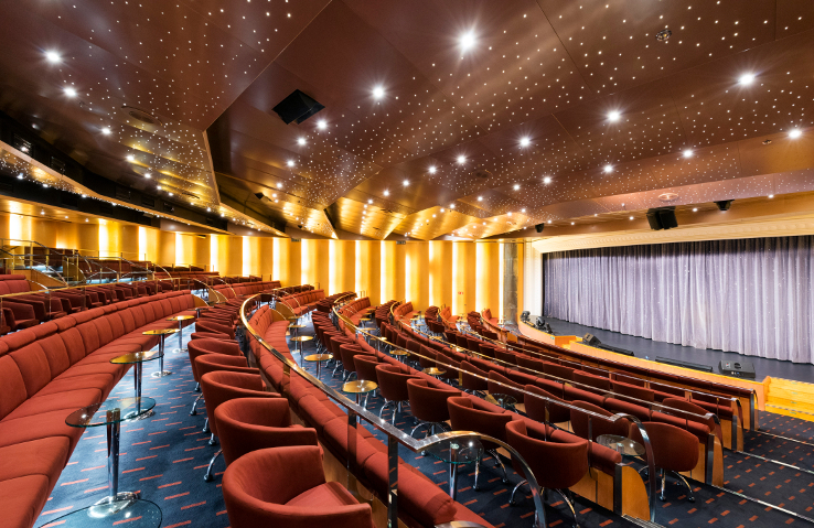 MSC Armonia Theatre