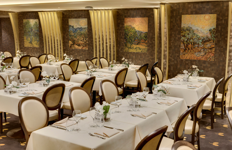 MSC Meraviglia Dining