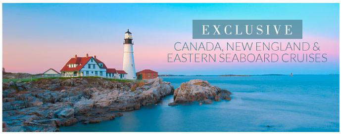 new england eastern seaboard canada cruises